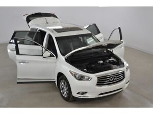 2014 Infiniti QX60 4WD Cuir*Toit Ouvrant*Camera Recul 7 Passager