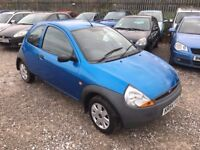Ford KA 1.3 Hatchback 3dr Petrol Manual, LADY OWNER. HPI CLEAR. SERVICE HISTORY. LOW MILEAGE