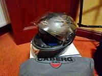 Caberg motorcycle helmet.