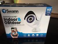 SwannCloud HD Indoor&Outdoor Wi-Fi All Weather Camera with Smart Alerts