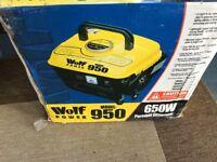 Wolf 950 generator 650w new in box