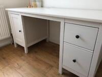IKEA Hemnes desk - white