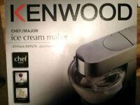 Kenwood Ice cream maker attachment