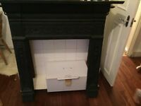Iron fireplace surround £250 free delivery clapham area