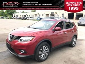 2014 Nissan Rogue SL AWD NAVIGATION/PANORAMIC SUNROOF/LEATHER