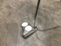 Golf club - Odyssey, White Hot 2 Ball Putter.