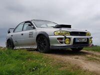 Subaru Impreza 2.0ltr turbo track car