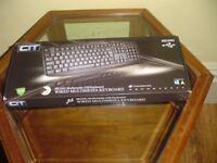 ***CiT KB-250U 8 Keys USB Multimedia Keyboard – Black***