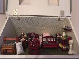 Dolls house. Worth more but looking for quick sale as moving and don't have the space