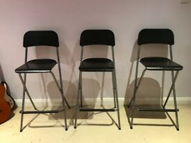 3 Foldable high chairs for sale