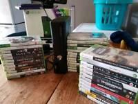 Xbox 360 console + 40 games