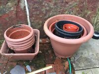 Job lot Plant pots all for £20