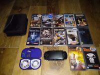 Sony PSP + Games