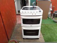 creda ceramic electric cooker 50 cm double oven