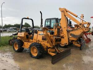 Used 2009 Astec RT960 Trencher w/ Front Backhoe