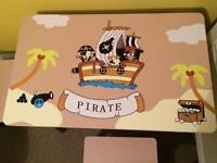 Kids pirate furniture