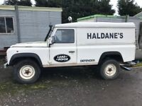 1999 landrover defender project.