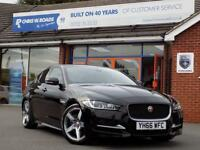 JAGUAR XE 2.0 R-SPORT 4dr AUTO (180) * Leather + Sat Nav + O (black) 2016