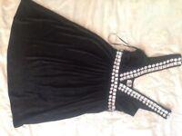 Ladies dress sparkle diamonds