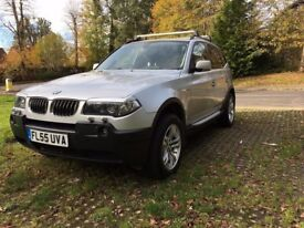 BMW X3 3.0D SE 2005 Full Leather Manual 79900 miles Excellent Condition Full Service, MOT 10 months