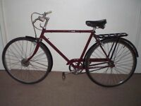 "Classic/Vintage/Retro Triumph 21"" Commuter/City/Town Bike (BRAND NEW tyres) (will deliver)"