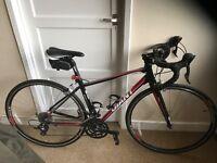 Giant road bike plus extras