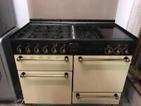 Leisure cream gas cooker 110cm