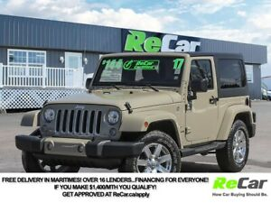 2017 Jeep Wrangler Sahara 6-SPEED | HEATED SEATS | NAV