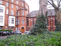 Large luxury 2 bed flat in a historical gated building close to Oval tube