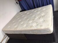 King Size Bed / Double Bed with mattress - very comfortable, extra offer, reduced price