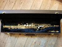 Earlham Series II soprano saxophone in excellent condition