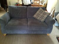 Three and two seater DFS sofas good condition, only two years old.