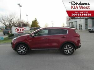 2017 Kia Sportage SX Turbo *Navigation/ Sunroof/ Leather/ Carpla