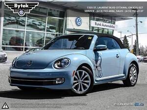 2013 VW Beetle Convertible Auto Blue