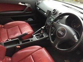 Audi A3 2.0 TDI sport, stunning car with full LEATHERS in ( red)