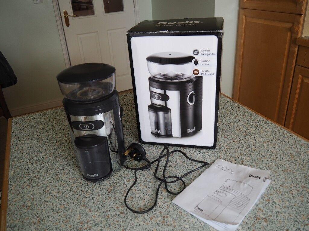 Dualit Coffee Grinder In Bungay Norfolk Gumtree