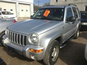 2004 Jeep Liberty Limited CALL 519 485 6050 CERTIFIED