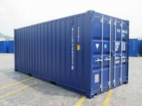 Flexible Storage solutions - container self storage, secure lock ups