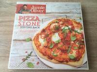 Jamie Oliver Pizza Stone &a Serving Rack 33cm