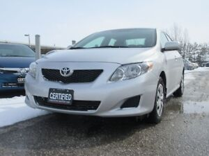 2010 Toyota Corolla CE / ONE OWNER / ACCIDENT FREE