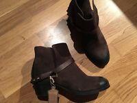 Hudson brown boots