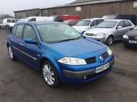 DIESEL 2003 RENAULT MEGANE DIESEL IN VGCONDITION 1900 cc DIESEL 6 SPEED MANUAL ALLOYS AIR CON CD VGC