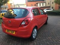 Vauxhall Corsa 1.4 CLUB 16V 5dr Full Automatic 2008(57) Service history,Glass Sunroof