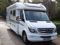 Auto Sleeper Burford 2014 4 Berth Motorhome
