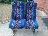 Van seats with seat belts , mini bus seats ,