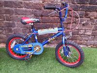 "4yrs+ ZOOMER, 14"" Wheels, 9"" Frame Bike- SERVICED & WORKING- Park Street School"