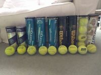 AS NEW Tennis Balls - FOR MATCHES & PRACTICE - IN ORIGINAL TINS - JUST REDUCED!!!