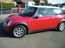 03 reg 1600cc MINI COOPER, BRAND NEW RECONDITIONED GEARBOX AND NEW CLUTCH & 12 MONTH WARRANTY £1295