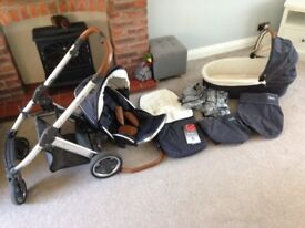 Oyster Babystyle pushchair set