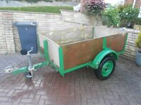 Car Trailer, Builders Trailer, Tip , Camping, Carboot, etc